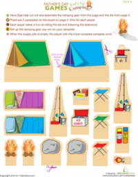 Ideas For Preschoolers Camping